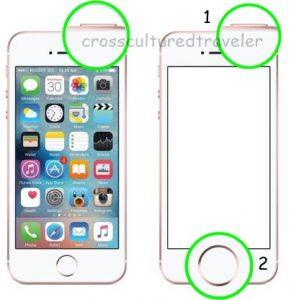 Cara Ss Iphone 5