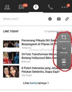 Screenshot Di Hp Oppo Panjang