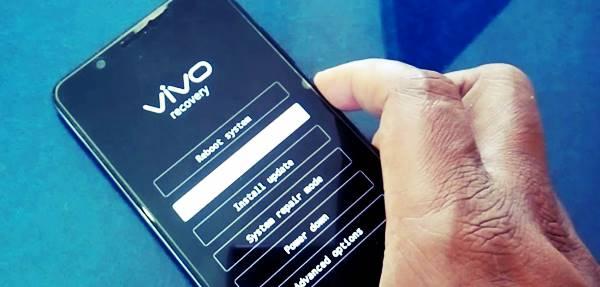 Ilustrasi Reset Ponsel Vivo Terbaru Menggunakan Kode Rahasia